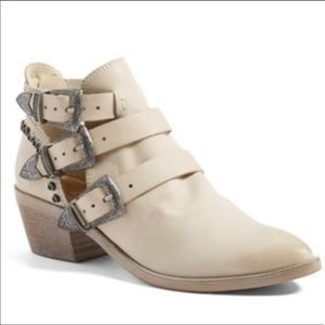 Dolce Vita Buckle Studded Bootie